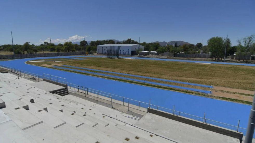 "Predio ""Pedro Presti"". Nueva pista de atletismo de San Luis"