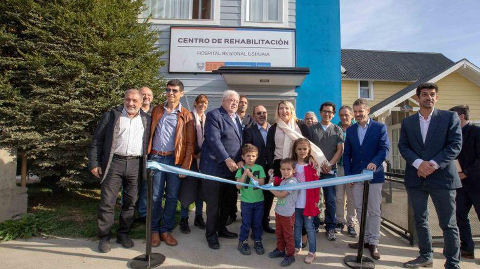 Se inauguró el Centro de Rehabilitación del Hospital de Ushuaia