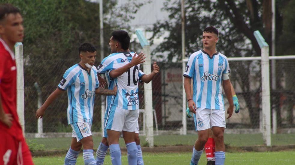 Las inferiores de Atlético Tucumán jugaron ante Huracán