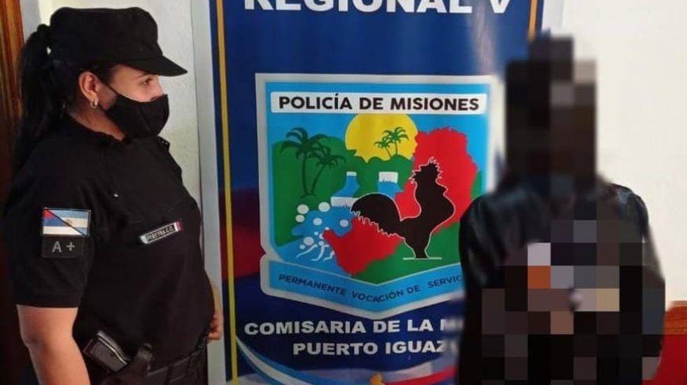 Iguazú: detuvieron a una mujer por amenazar y agredir a su ex pareja