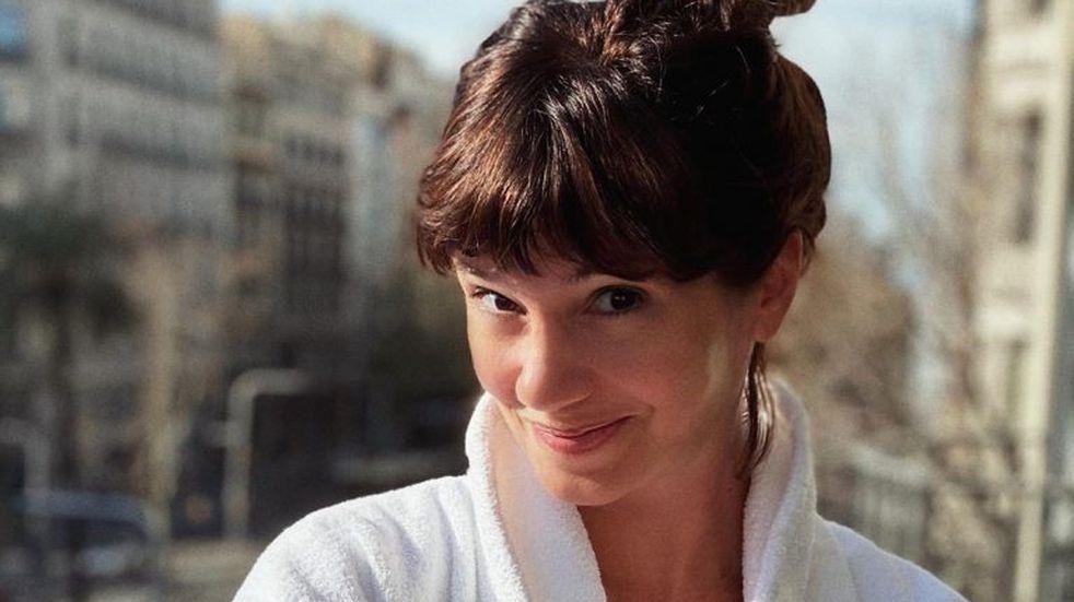 El desopilante video de Griselda Siciliani en la pileta