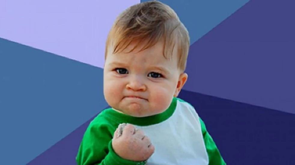 """Así está hoy el niño del meme """"Success Kid"""""""
