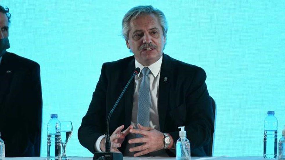 """Alberto Fernández: """"Estamos en default desde antes de diciembre. Solo que antes lo ocultaban"""""""