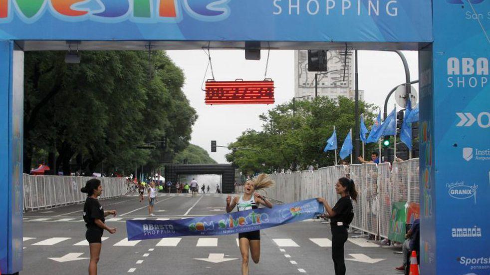 Chiara Mainetti obtuvo el podio en la tradicional carrera San Silvestre