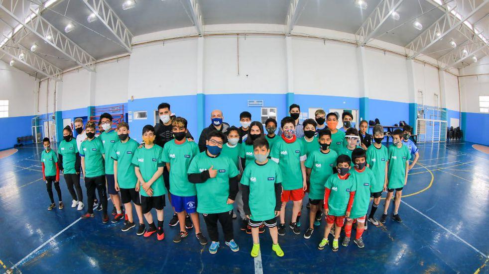 Se realizó el Campus de Futsal con Pablo Vidal