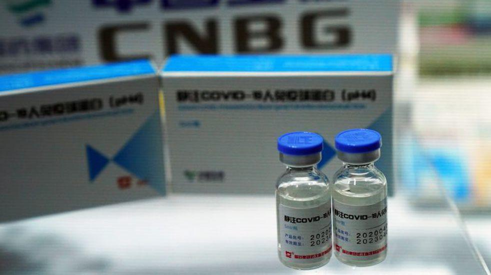 Coronavirus: el Gobierno espera para febrero un millón de dosis de la vacuna china de Sinopharm