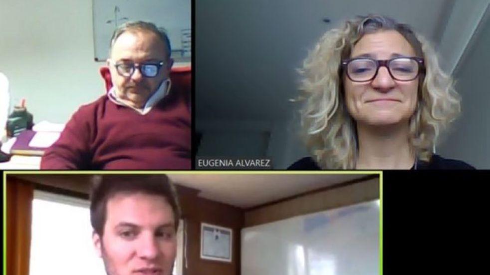 La regional Patagonia Sur mantuvo su primera reunión por videoconferencia