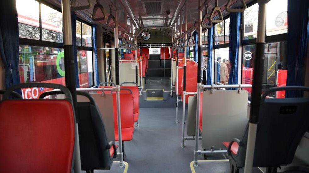 El transporte público funcionará como domingo los próximos 9 días