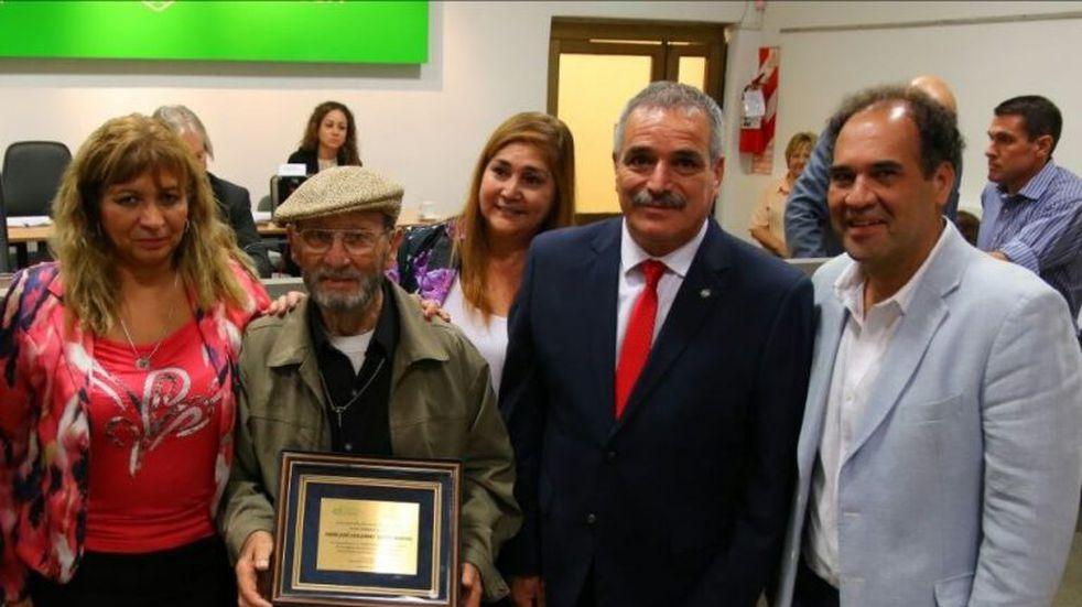"""Quito"" Mariani es Ciudadano Ilustre"