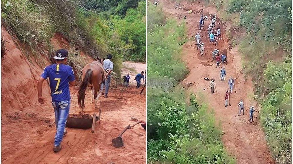 Hubo un derrumbe en la ruta y un pueblo salteño está aislado desde hace meses