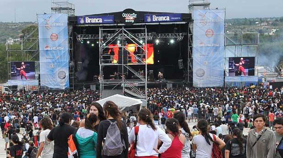 José Palazzo ratificó el Cosquín Rock en Miami