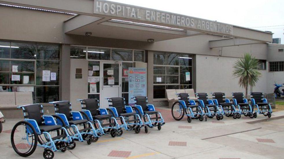 Llegaron 10 sillas de ruedas a General Alvear donadas por Cilsa