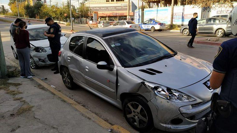 Robo, persecución y choque en la zona sur de la ciudad de Córdoba