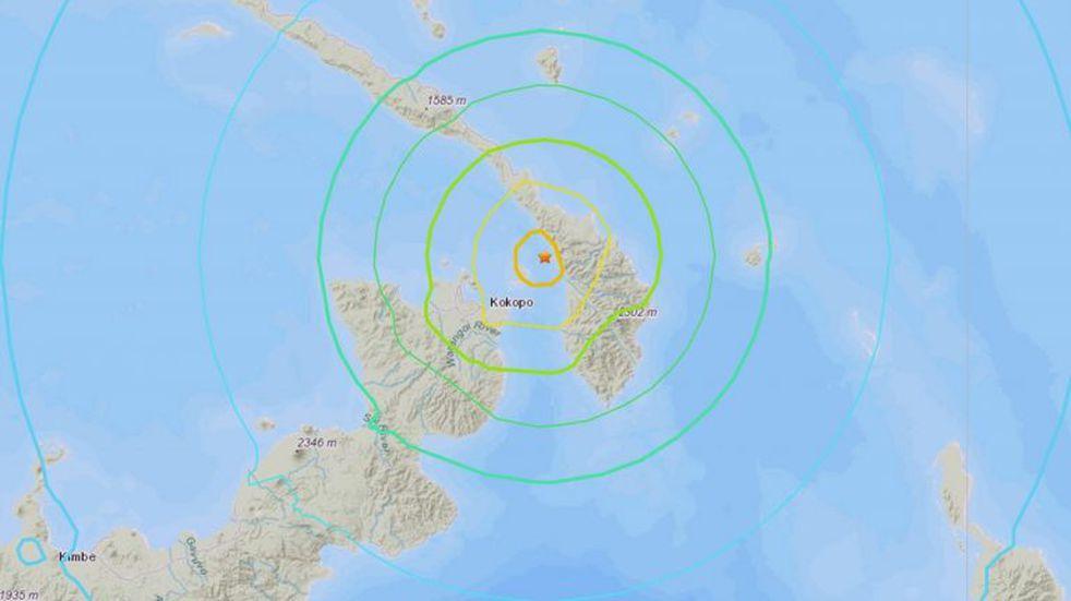 Sismo de 7,5 frente a Papúa Nueva Guinea activó el alerta de tsunami