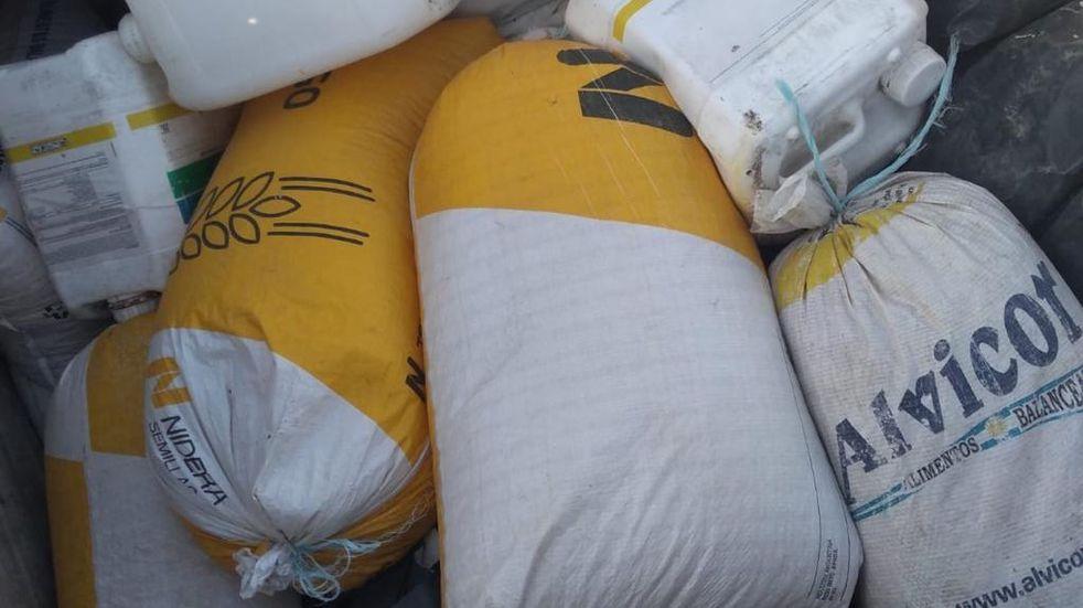 Robo de maíz de un Silo bolsa en Arroyito