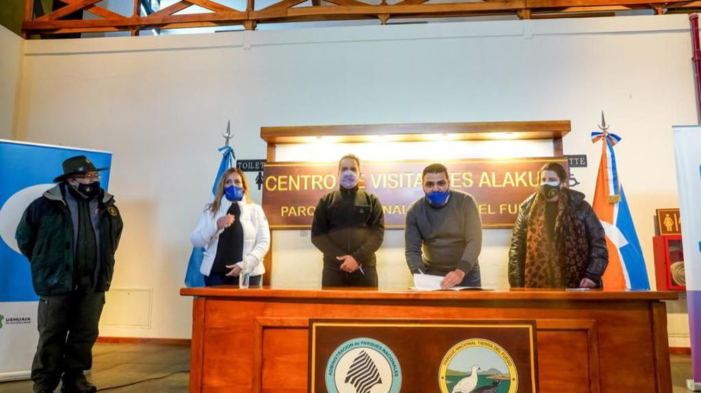 Construirán viviendas para guardaparques en Tierra del Fuego