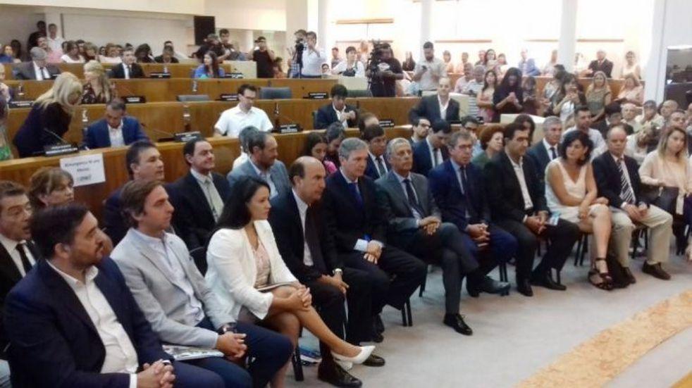 Monzani inauguró las sesiones del Concejo Deliberante y alabó la gestión de Horacio Quiroga