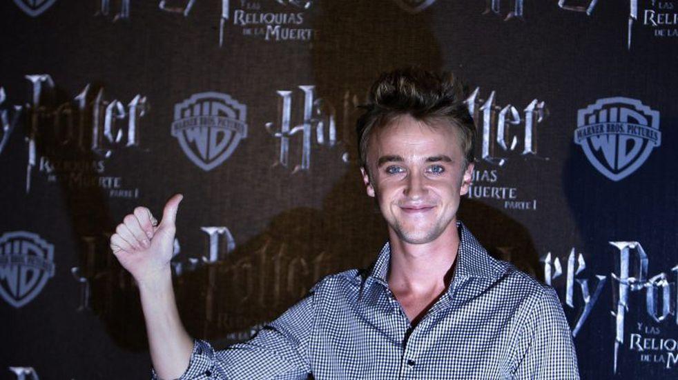 """Qué fue de la vida de Tom Felton, el actor de """"Draco Malfoy"""" de """"Harry Potter"""""""