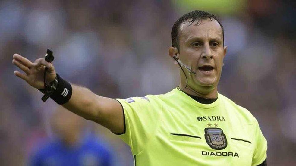 Darío Herrera será el árbitro para Talleres - Colón
