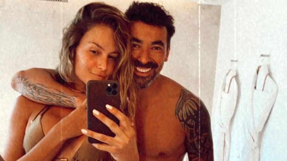 Ezequiel Lavezzi saludó por su cumpleaños a Natalia Borges