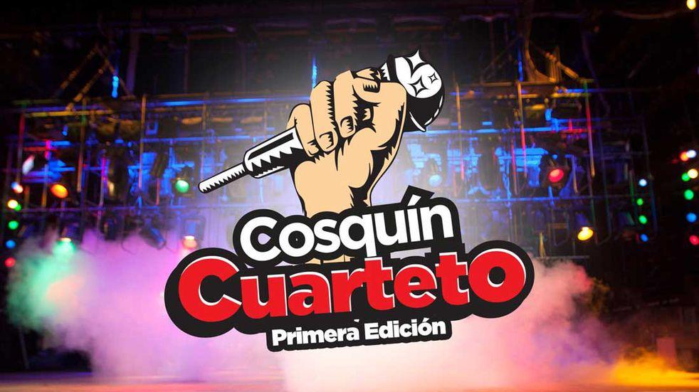 Logo del festival Cosquín Cuarteto 2022.