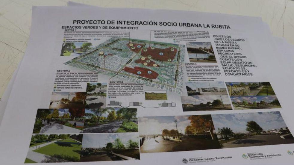 Chaco y Nación avanzan en el Proyecto Urbano La Rubita