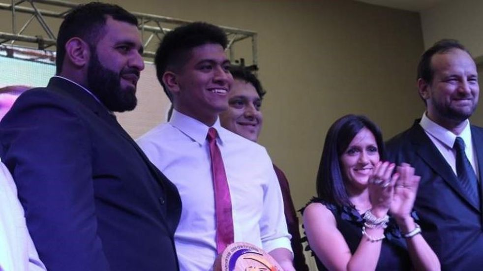 Julian Gutierrez fue elegido como el Deportista del Año en Catamarca