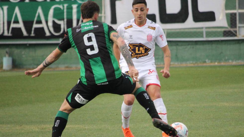 San Martín de San Juan perdió 3-2 ante Barracas Central por la Primera Nacional