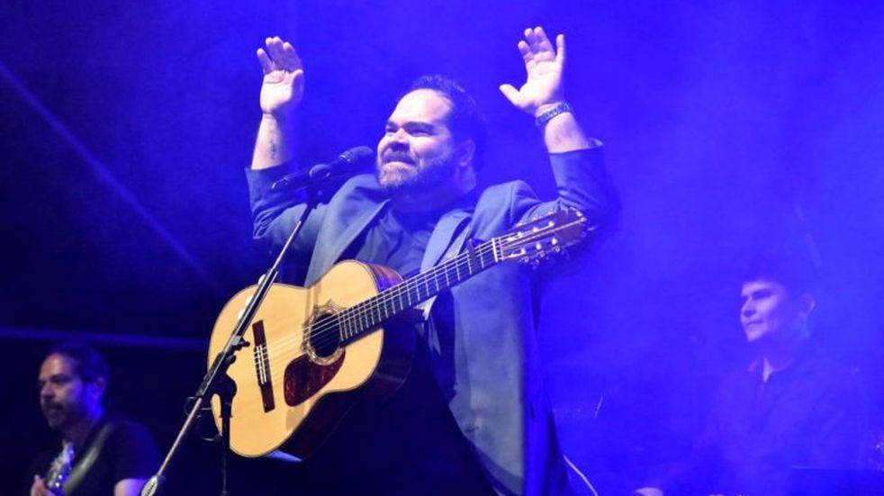 Juan Fuentes fue el artista consagración de la Serenata a Cafayate