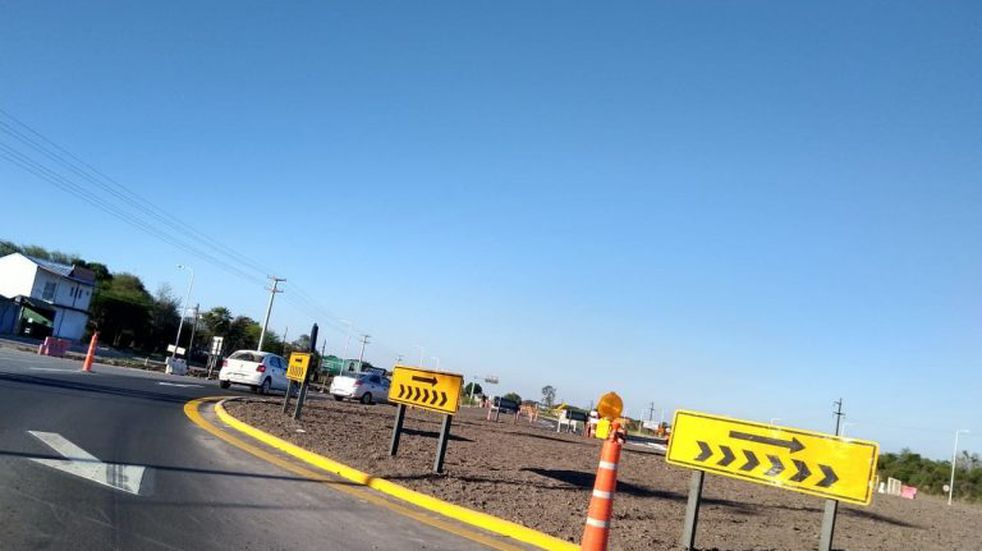 El Ministro Guillermo Dietrich inaugura 20 kilómetros de autovía en la ruta nacional N° 11