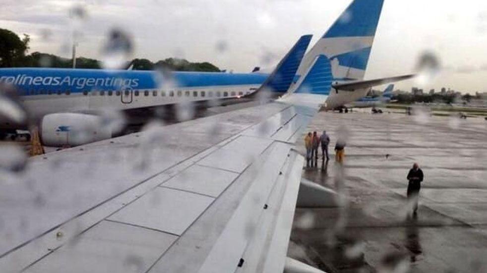 Demoras en Aeroparque
