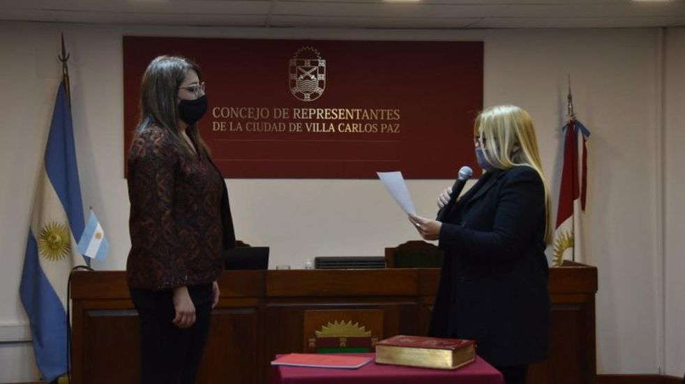 Soledad Zacarías se convirtió nuevamente en la Presidenta del Consejo de Representantes de Carlos Paz
