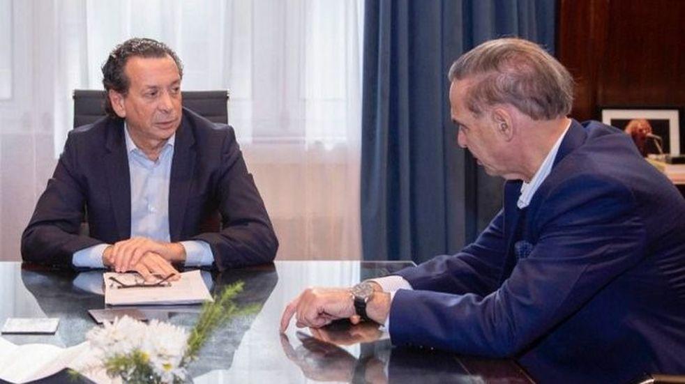 Pichetto junto a Sica se reúne con empresarios marplatenses