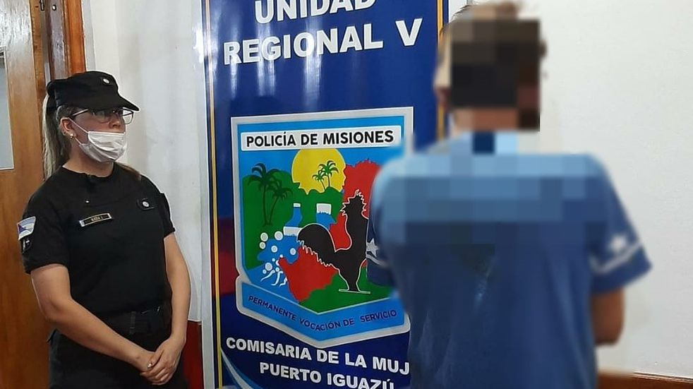 Detenido por violencia de género en Puerto Iguazú