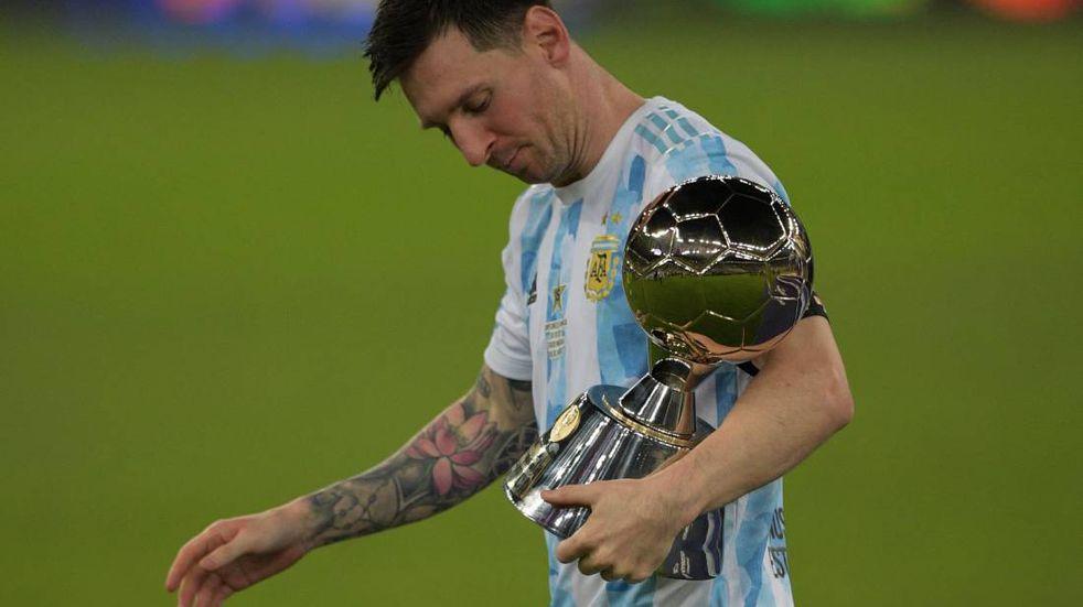 Lionel Messi, mejor jugador y goleador de la Copa América 2021: sus goles en el torneo