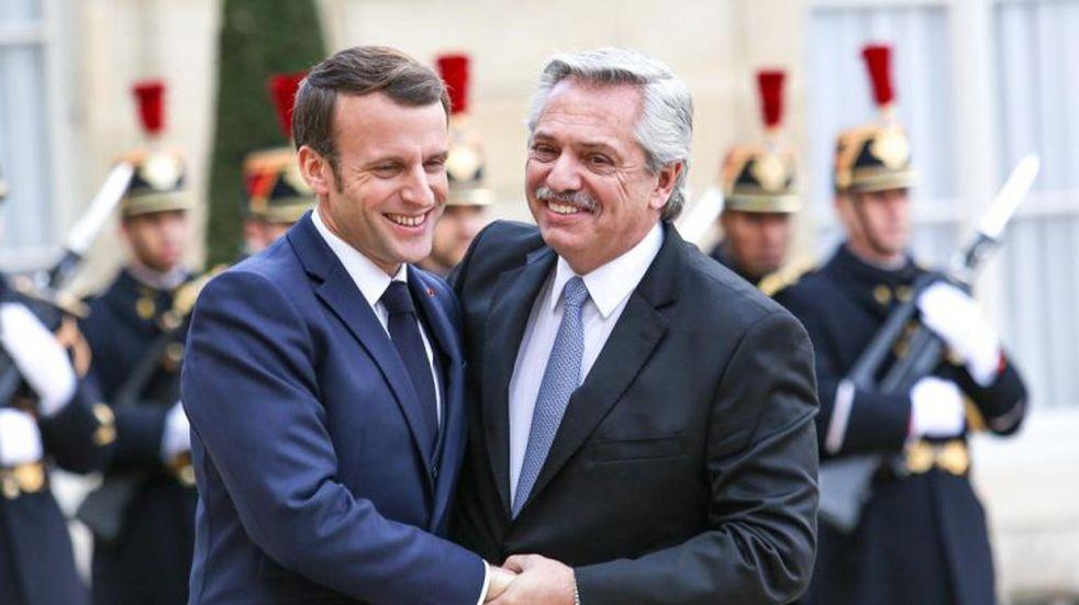 Emmanuel Macron expresó su apoyo a la Argentina frente a las nuevas negociaciones con el FMI