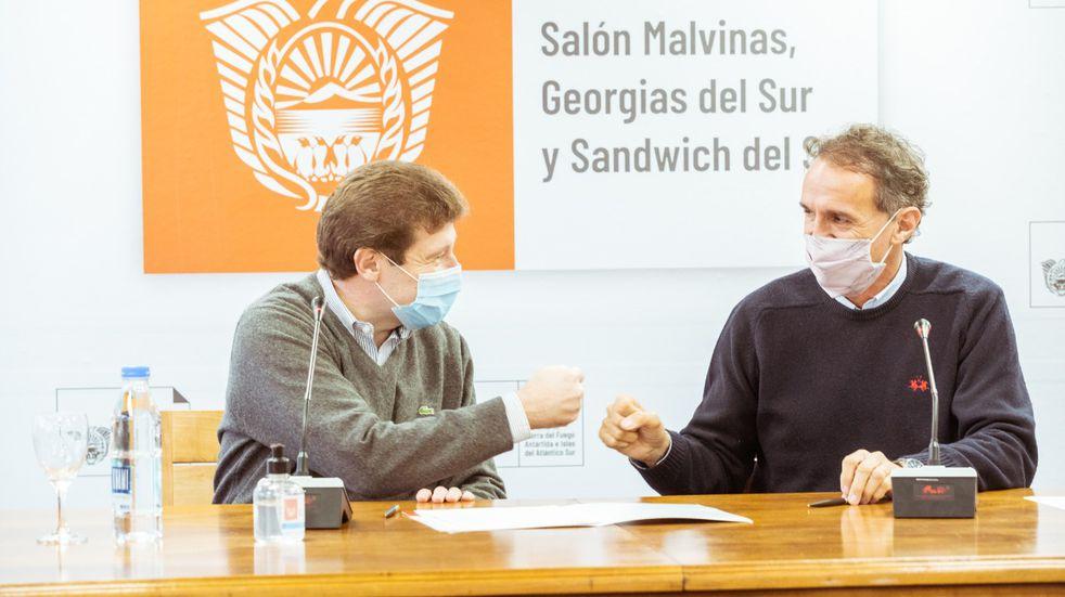 Tierra del Fuego acordó con Nación un plan de obras públicas por más de 5 mil millones de pesos