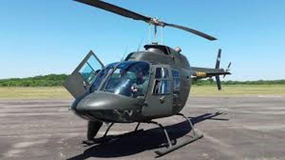 El Ejército Argentino abastecerá con un helicóptero a pobladores de Río Negro