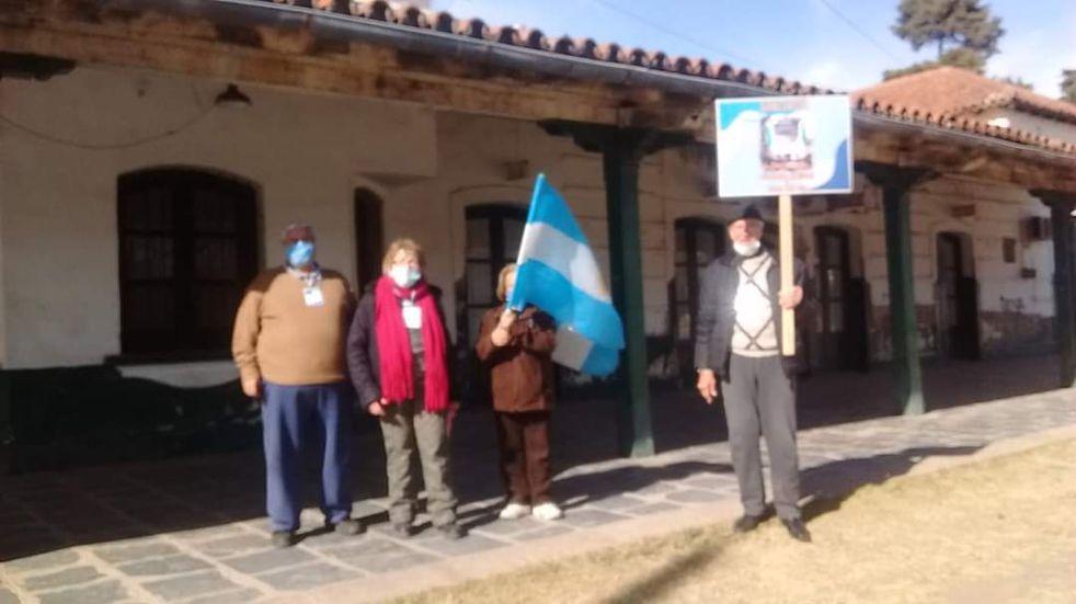 """Caminata simultánea"", a 129 años de la llegada del tren a Punilla"