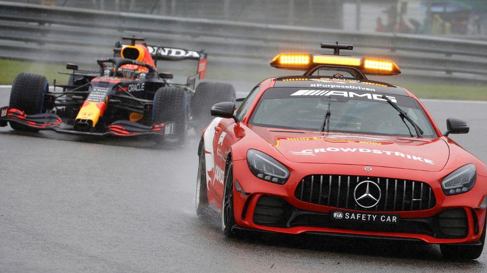 F1 bochornosa: Verstappen ganó una carrera inexistente