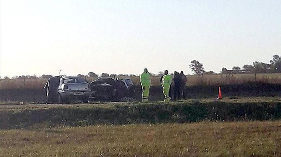 Accidente fatal en cercanías de Sampacho, al sur de Córdoba