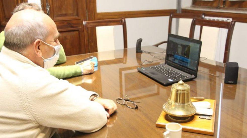 Créditos de la provincia para equipamiento: Tres Arroyos presente en la teleconferencia