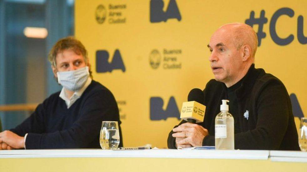 Horacio Rodríguez Larreta afirmó que llevarán el plan Detectar al resto de los barrios de la Ciudad