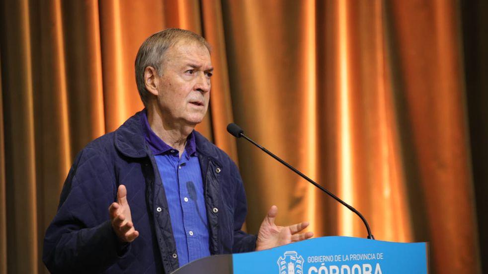 """Schiaretti sobre la segunda ola de coronavirus: """"Debemos cuidarnos y hacer caso de las resoluciones sanitarias"""""""