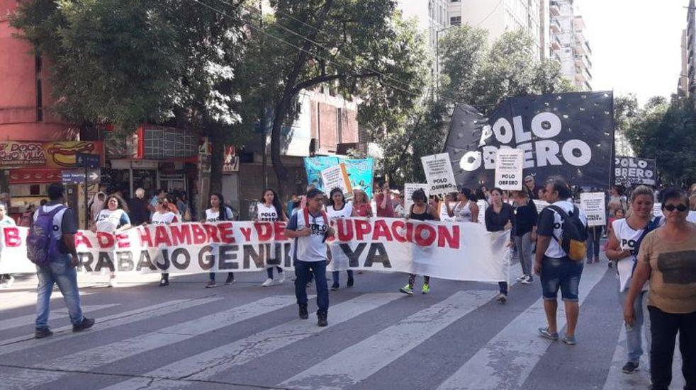 Potenciar Trabajo: el Polo Obrero y una nueva marcha este lunes en Córdoba