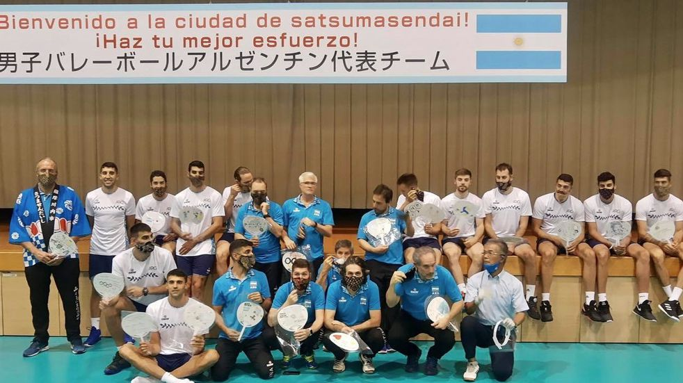 Selección Argentina de Voley: el mendocino Agustín Loser brilló en el amistoso ante Italia y ya está en Japón
