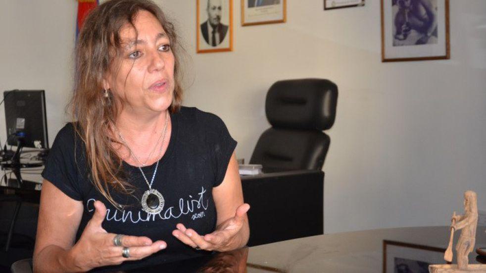 Lilia Tiki Marchesini, ministra de Derechos Humanos de Misiones.