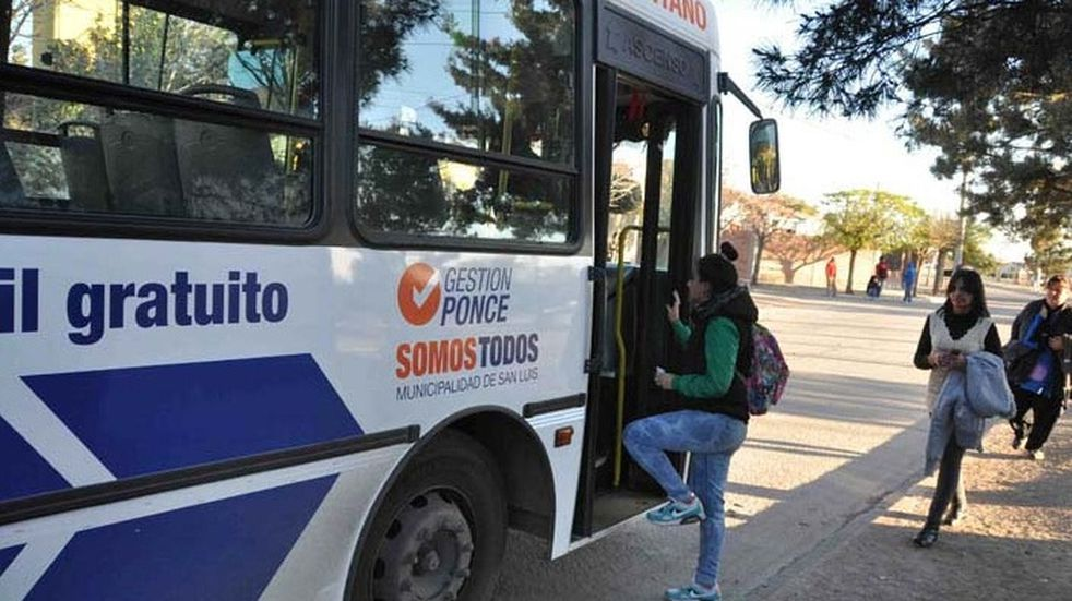 Ya rige en la Ciudad de San Luis el boleto estudiantil gratuito