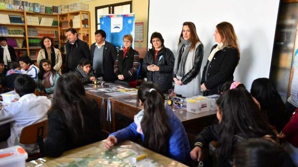 Se multiplica el aprendizaje digital en el interior de la provincia
