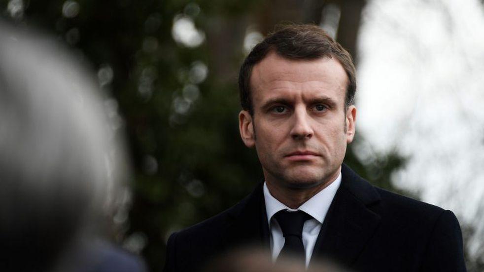 """Emmanuel Macron, sobre el incendio de Notre Dame: """"Una parte de nosotros arde"""""""